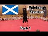 Edinburgh Taekwondo Seminar Part 1 (Ginger Ninja Trickster)