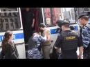 Разгон гей-парада в Москве 30 мая 2015 года