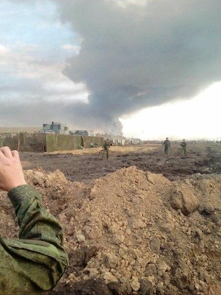Пожар на военном полигоне «Кузьминки» потушен. Трасса «Ростов-Таганрог» открыта. ФОТО и ВИДЕО с места ЧП