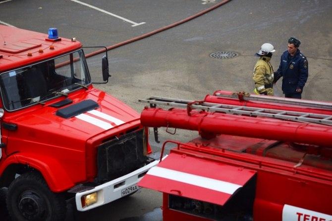 В Красном Десанте под Таганрогом произошел пожар