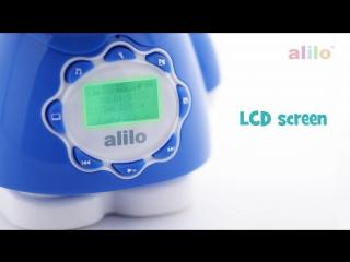 Музыкальный плеер ночник-Большой Зайка Alilo G7