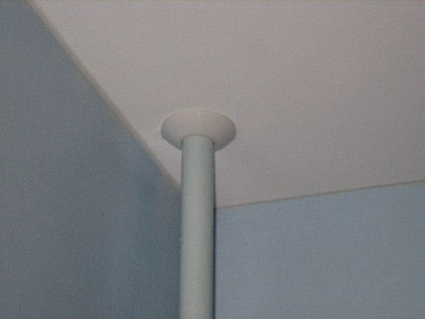 Как можно переделать побеленный потолок
