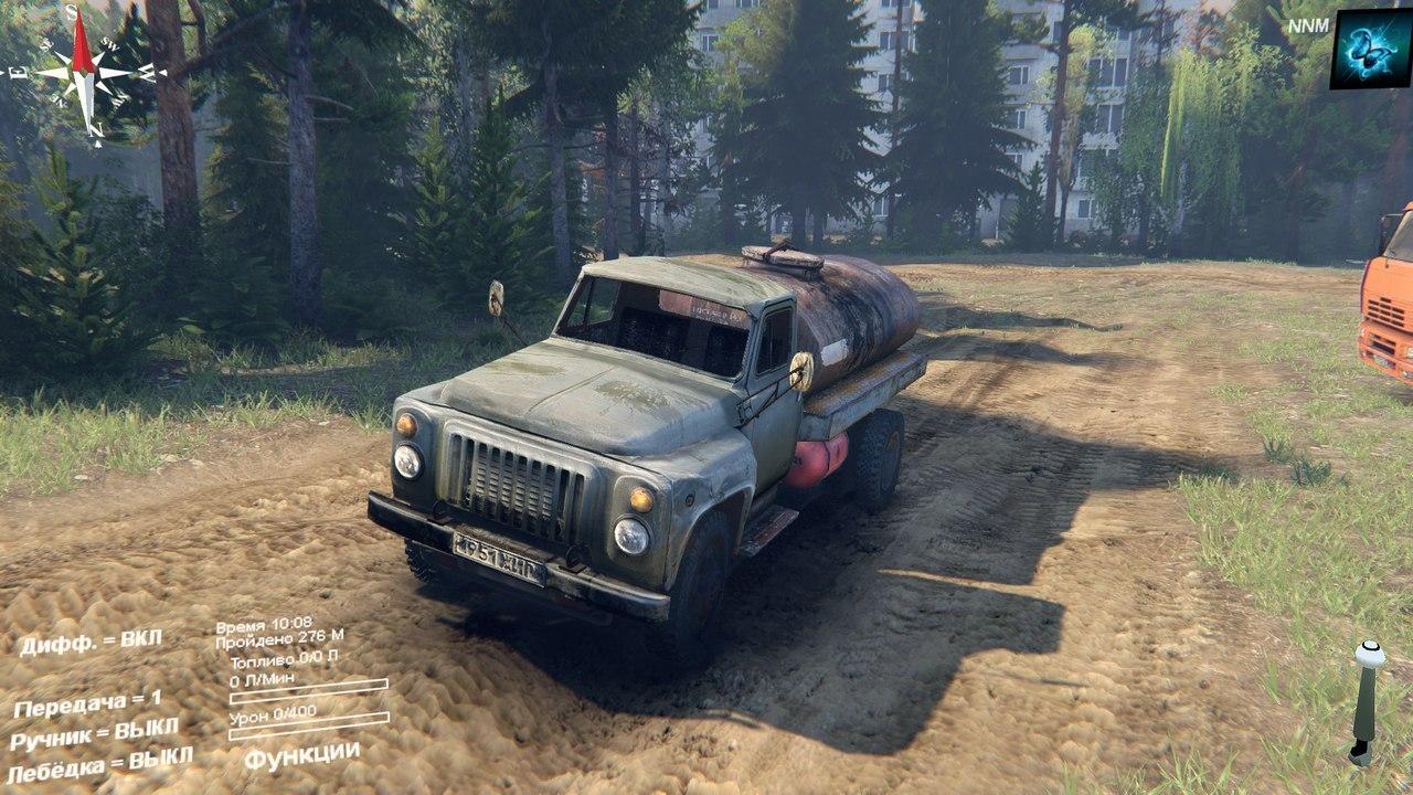 ГАЗ-53 + аддоны AzZt1H-bPk0
