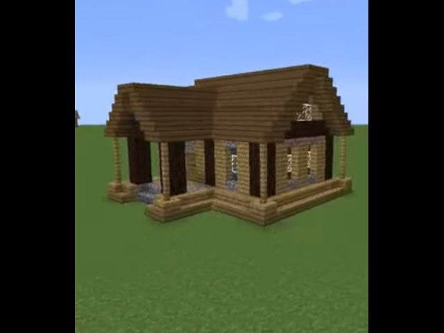 Как построить маленький и красивый дом в Minecraft