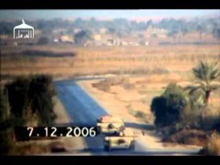 Подрыв Абрамс М1 на фугасе. Ирак 2006/ Abrams  IED   Iraq 2006