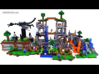 лего майнкрафт все наборы фото