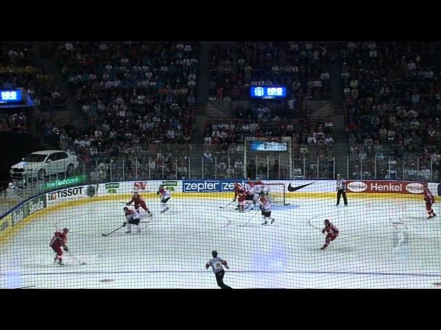Канада - Россия 4 - 5. Чемпионат Мира по хоккею 2008. Финал в год столетия хоккея.