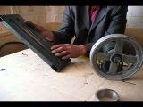 Конусный дровокол своими руками часть 5. Рекомендации по изготовлению натяжного устройства.