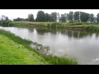 Сплав и рыбалка на резиновой лодке по реке Пышма от деревни Малые Акияры до села Червишево