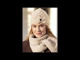 Самые модные вязаные женские шапки
