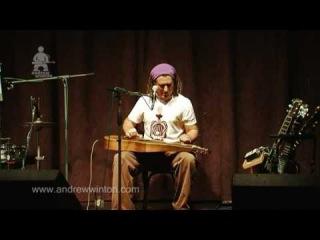 Andrew Winton Barrel O Monkeys custom weissenborn guitar ellis rhythm box