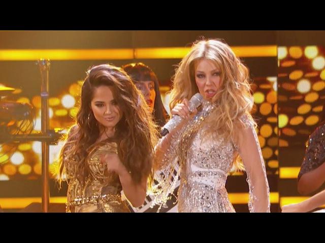 """Thalía y Becky G cantan """"Como Tú no hay Dos"""" en Premio lo Nuestro 2015"""