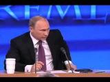 Пресс-конференция Путина. Вопрос от Джона Симпсона BBC