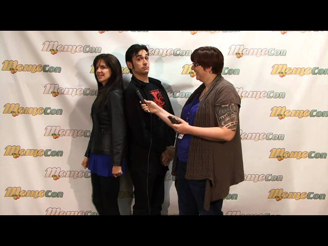Interview With Jennifer Hale And Mark Meer (Mass Effect's Commander Shepard) - MomoCon 2013