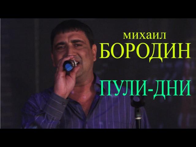 Михаил Бородин - Пули-дни