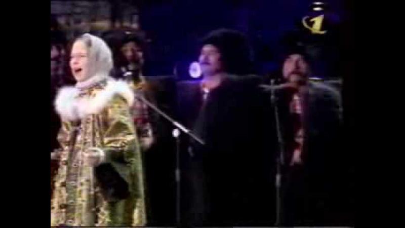Любо братцы любо Пелагея 11 лет Концерт в честь 850 летия Москвы 1997 год