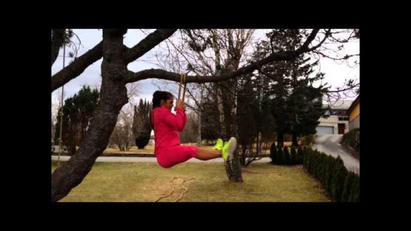 Be creative!! fitmom @funkygine workout