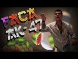 Faca Fruit AK-47 Ninja