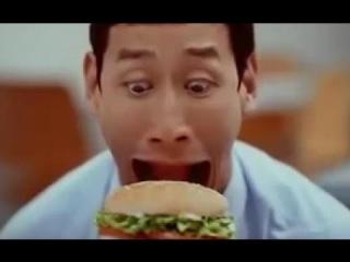 Безумная и Смешная Реклама Бургер Кинг :-D