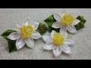 D.I.Y. Satin Kanzashi Daffodils Tutorial | MyInDulzens