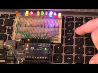 Arduino управление с компьютера: мышь клавиатура Computer control mouse keyboard Расписание