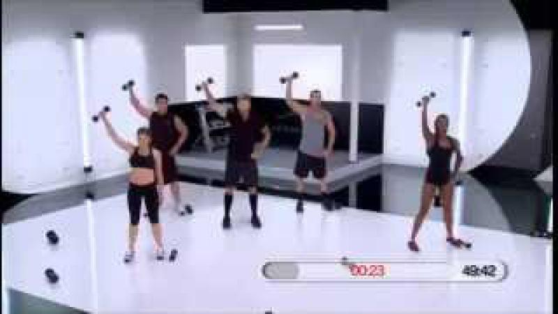 Bob Harper - Total Body Transformation Workout - 62 min. Боб Харпер