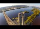 Kyiv aerial video Киев аэросъемка