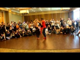 SALSA ON 2 Advanced Partenerwork @ VITO y STEFANIA at Istanbul International Dance Congress