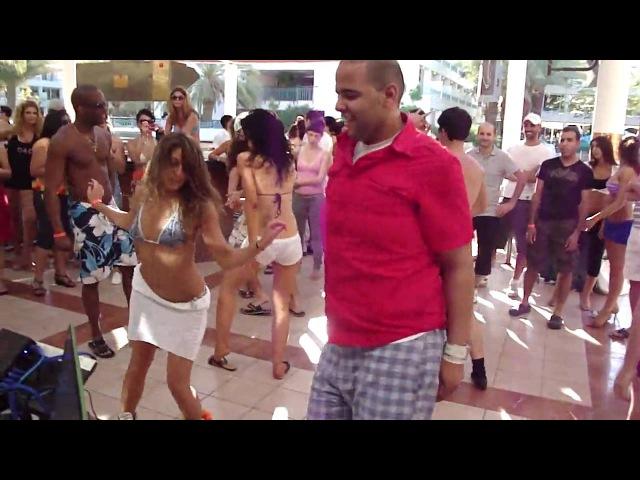 Shani Talmor and Alex Morel Caribbean Soul Social Dancing in Israel 2010