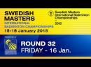R32 - MS - Vladimir MALKOV vs Dieter DOMKE - 2015 Swedish Masters