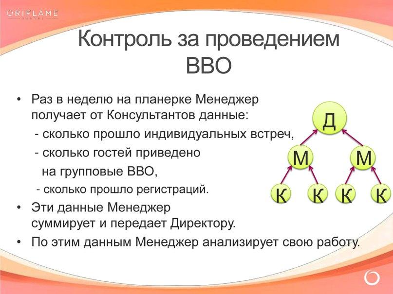 Контроль за проведением ВВО в структуре Лидера