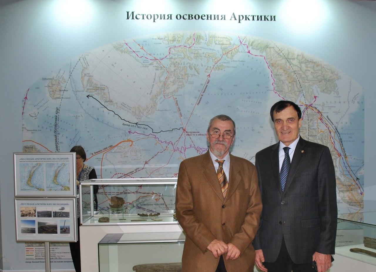 А. Тишков и А. Чибилёв