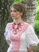 Нравятся платья в русском/славянском стиле.