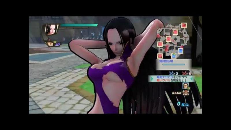 ワンピース 海賊無双3『ハンコック』(3D2Y衣装)