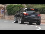 Porsche Cayenne Techart Magnum driving in Monaco | BRUTAL SOUND