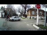 ДТП в Ейске 6 апреля 2015 года (ул. К.Либкнехта и Сергея Романа)