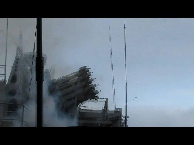 Ведет огонь РБУ-6000 БПК Вице-адмирал Кулаков (RBU-6000 fire)
