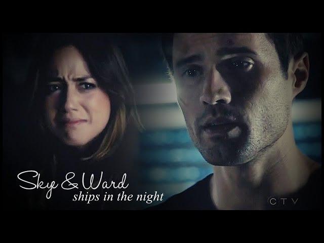 Skye ward | ships in the night