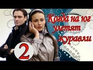 Когда на юг улетят журавли - 2 серия из 4 Мелодрама Фильм