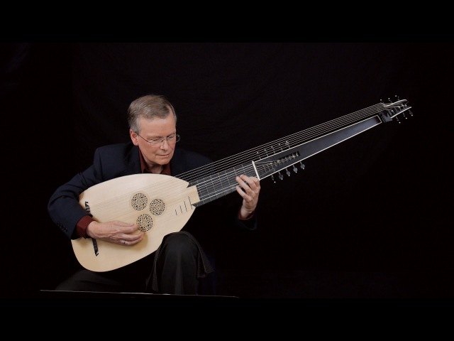 J.S. Bach: Prelude in C Minor pour le luth BWV 999; David Tayler, archlute