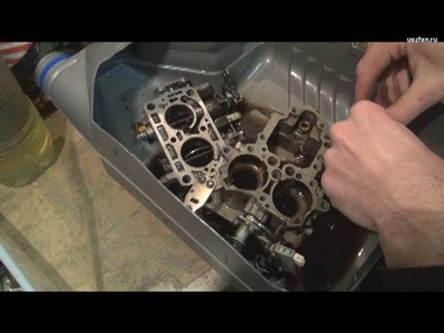 Разборка и промывка карбюратора К-151