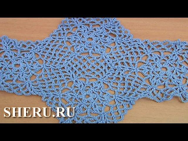How To Make Crochet Octagons Урок 36 часть 2 из 2 Шестиугольный вязаный крючком мотив