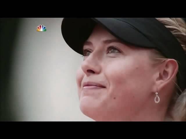 María Sharapova-Roland Garros 2012-Himno de Rusia