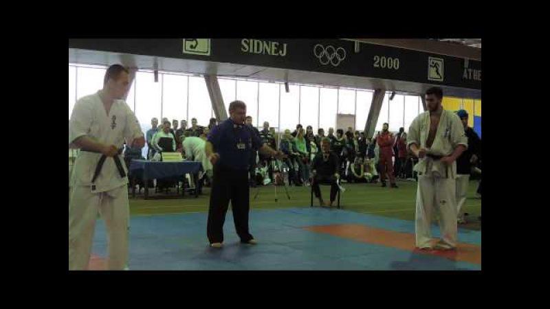 Борис Булискерия Запорожье - Твердохлеб Дмитрий Киев, -90 кг полуфинал