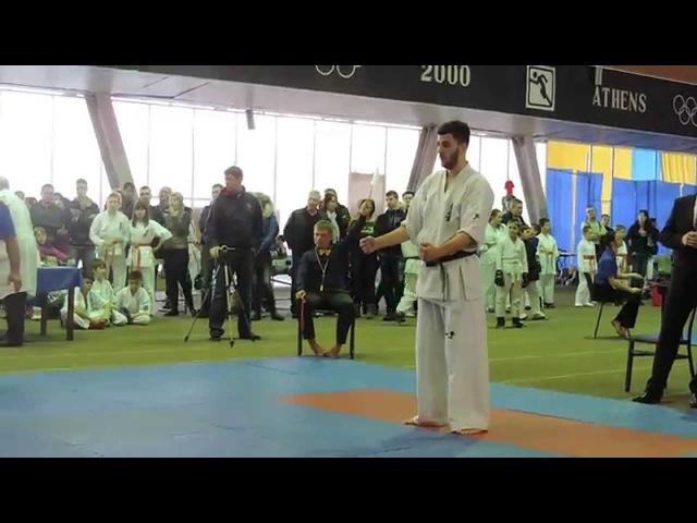 Борис Булискерия Запорожье - Рубан Вячеслав Запорожье, -90 кг четвертьфинала