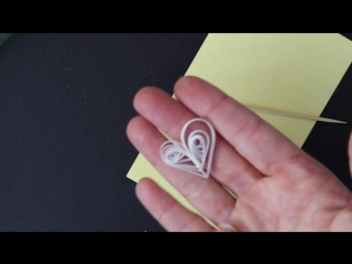 Квиллинг. Сердечко ВСС https://vk.com/scrapers  How to Make Quick Quilled Hearts