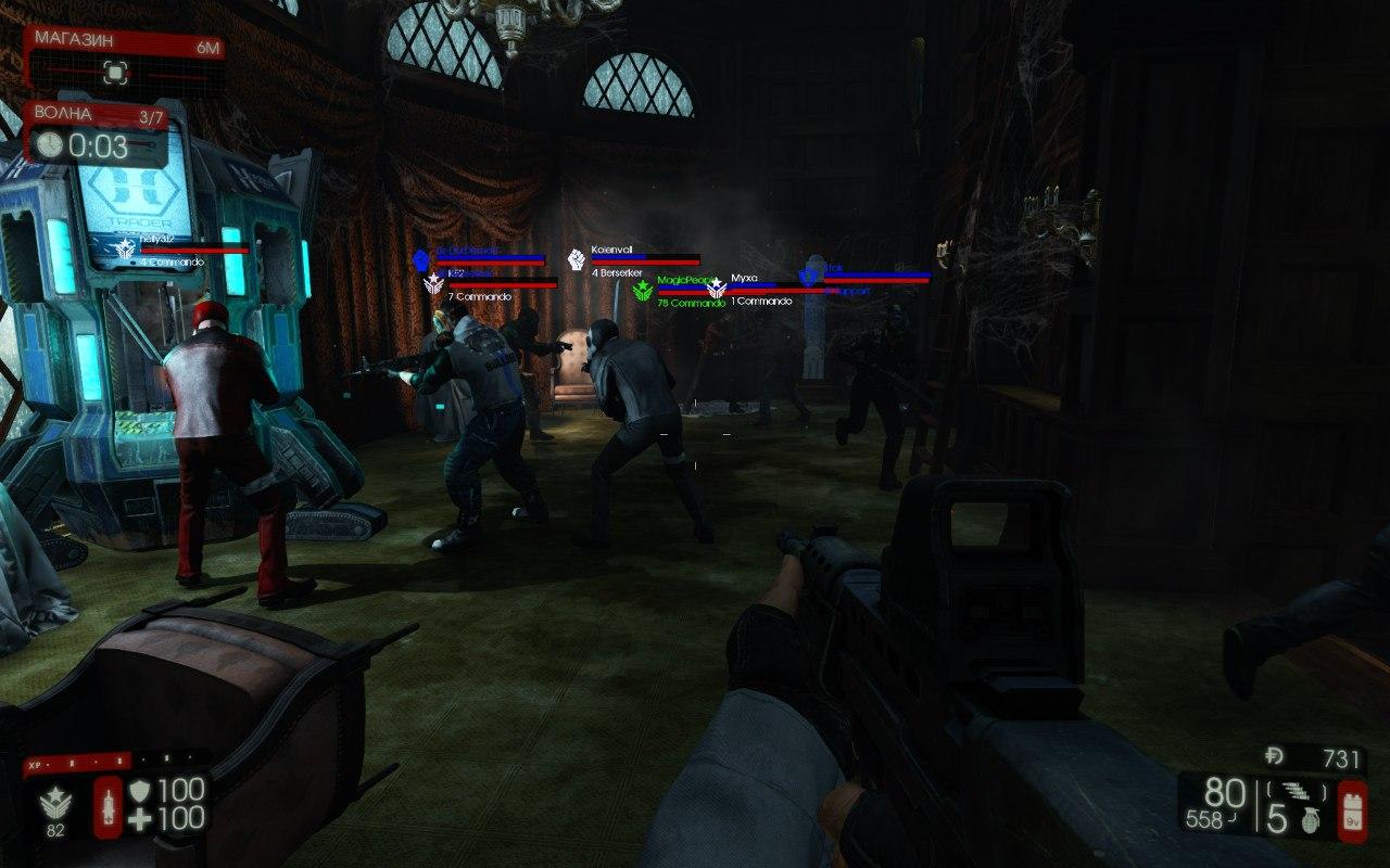 Сложность сервера Killing Floor 2 [W.A.L]
