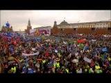 Москва 1 мая 2015 - Демонстрация трудящихся.