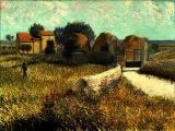 Van Gogh Shadow Luca Agnani Ожившие полотна Ван Гога