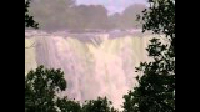 Водопад Виктория (Victoria Falls) самый большой в мире